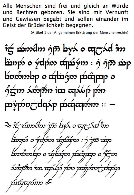 sindarin übersetzer